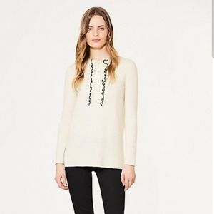 Tory Burch Cashmere Emily Sweater